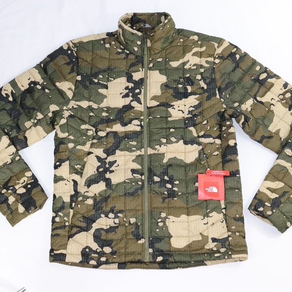 7210137e87 Camo Men s Thermoball Jacket by The North Face